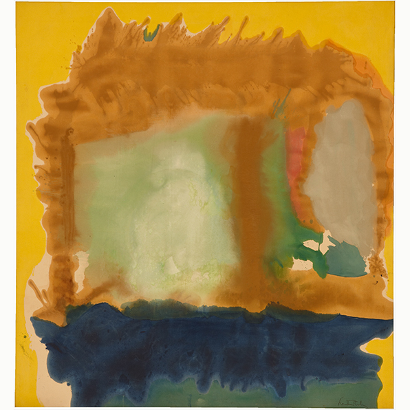 , 'Milkwood Arcade,' 1963, Helen Frankenthaler Foundation