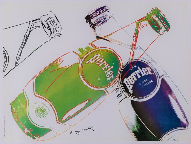 , 'SOURCE PERRIER EAU NATURELLE ,' 1983, Galleria Alfieri