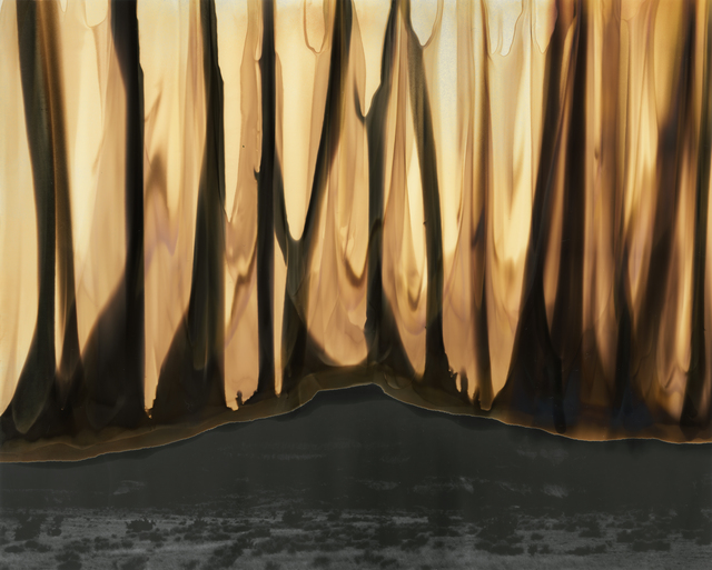 Caitlyn Soldan, 'Cerro Pedernal #18', 2019, Photography, Chromoskedasic sabattier process, Obscura Gallery
