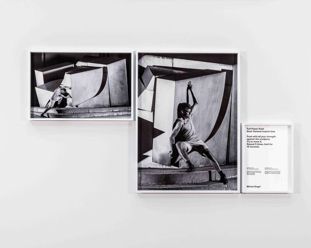 , 'Full Power Push (Kunstturnen (Artistic Gymnastics)),' 2014, Grieder Contemporary