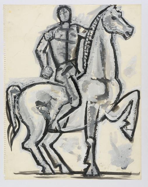 , 'Horse and Rider,' ca. 1960, Osborne Samuel