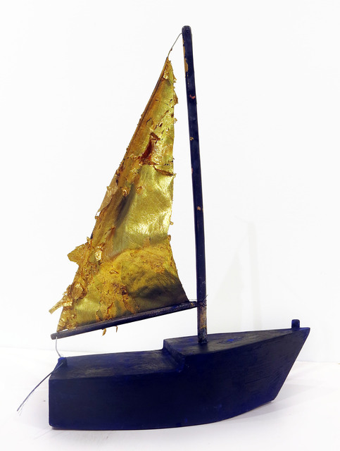 , 'Untitled (sailboat),' 2015, Edward Thorp Gallery