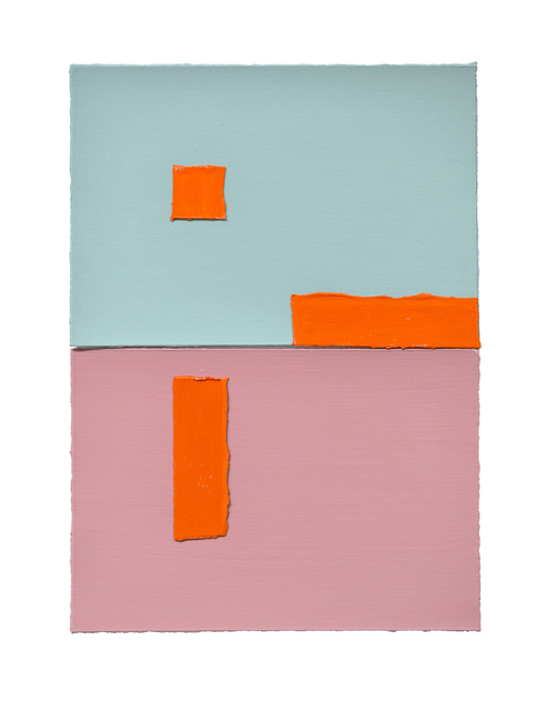 Luis Palmero, 'Aeteladnan I', 2020, Drawing, Collage or other Work on Paper, Acrylic on paper, Galería Artizar
