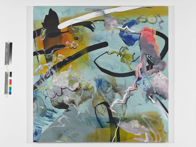 Florin Kompatscher, 'Pongo', 2019, Painting, Öl auf Leinen, Galerie Elisabeth & Klaus Thoman
