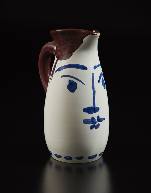 Pablo Picasso, 'Face tankard (Chope visage)', 1959, Phillips