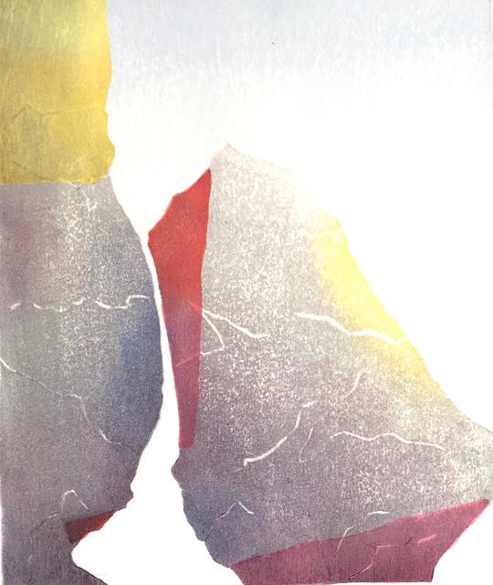 Jolanta Ewart, 'Two Rocks', 2015, Open Bite Printmakers