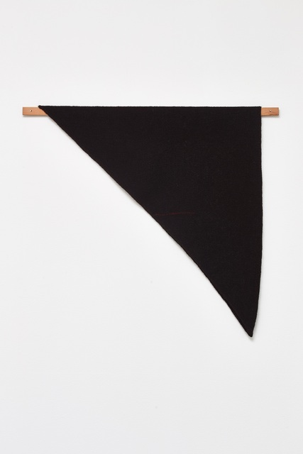 , 'Waulked Triangle,' 2015, Galerie Nordenhake