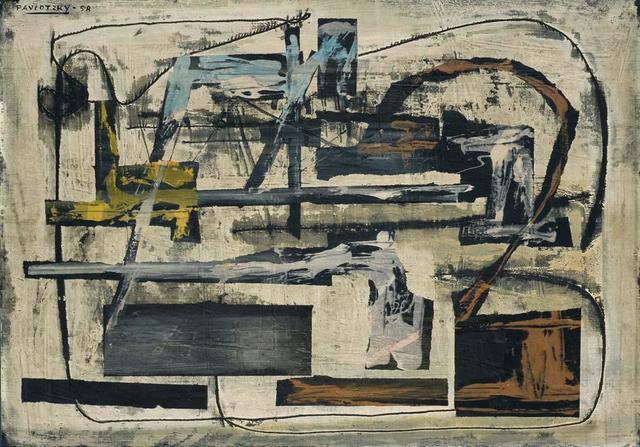 , 'Composición,' 1958, Galería de las Misiones
