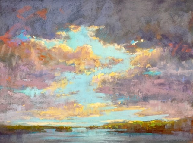 , 'Clouds Passing By,' 2018, 530 Burns Gallery