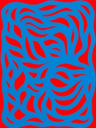 Sol LeWitt, 'Loops, Blue/Red,' 1999, Heritage Auctions: Holiday Prints & Multiples Sale