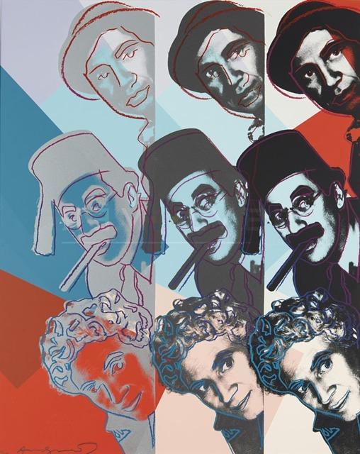 Andy Warhol, 'Marx Brothers', 1980, Jim Kempner Fine Art
