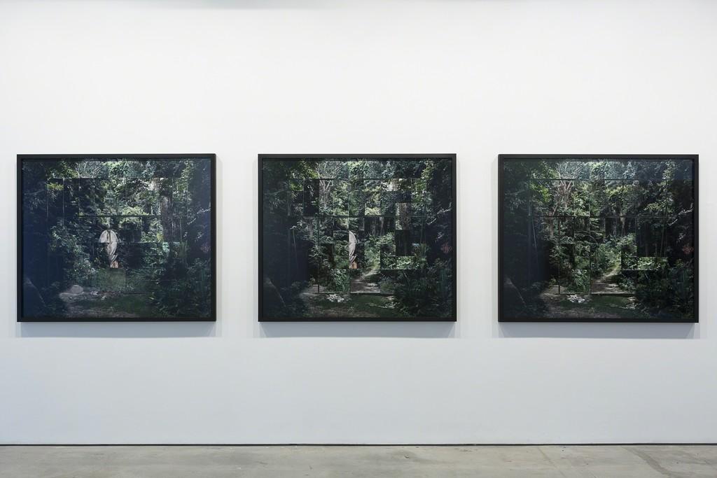 Noémie Goudal, 'Les Mecaniques' (triptych), 2016