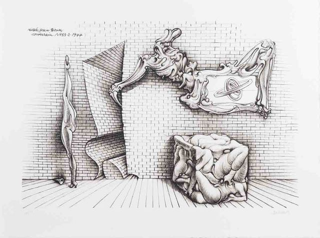 Hans Bellmer, 'Forms and Shapes', 1970, Print, Etching, ArtWise