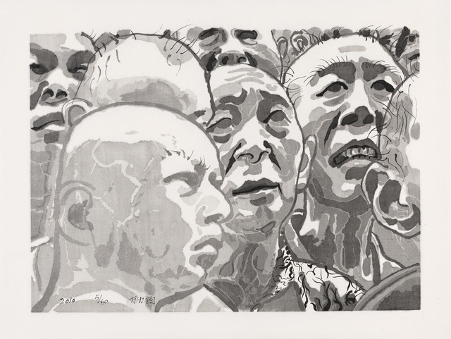 , 'Untitled Men in Crowd,' 2010, Ethan Cohen New York