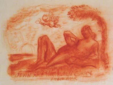 , 'John and Kathleen Curry's Card,' , Kiechel Fine Art