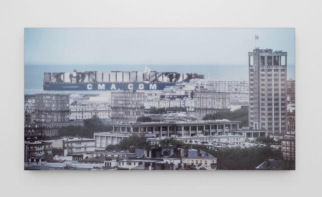 , 'Women are Heroes, Elizabeth Kamanga on sea, Le Havre, France,' 2014, Perrotin