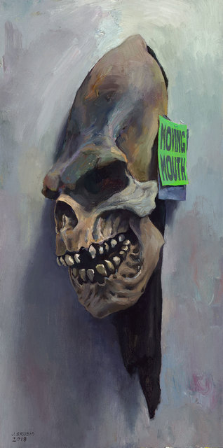 , 'Skeleton Mask Study,' 2018, ARCADIA CONTEMPORARY