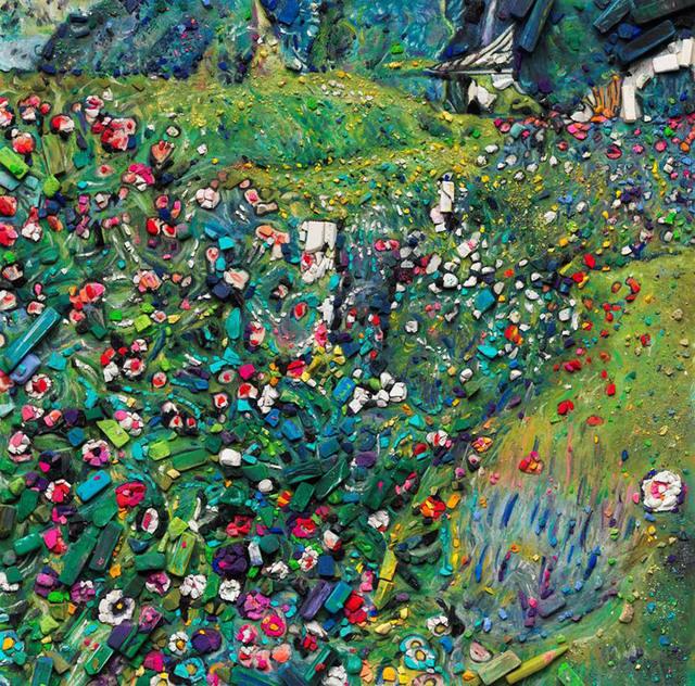 , 'Metachrome: Italian Garden, after Klimt,' 2016, Galeria Nara Roesler