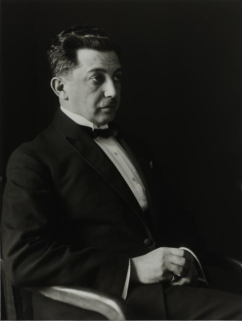 August Sander, 'Baron, 1922–1925', Galerie Julian Sander