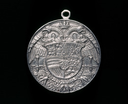 Hans Reinhart the Elder, 'Double-headed Eagle, Charged with Shield [reverse]', 1537, National Gallery of Art, Washington, D.C.