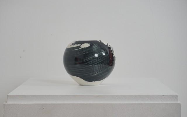 , 'Small porcelain vessel,' 2018, Henry Saywell
