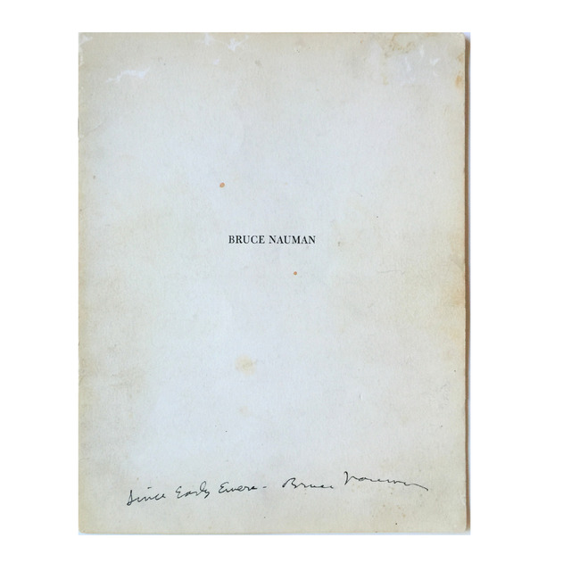 ", '""Since Early Evers"" FIRST EXHIBIT CATALOG, Spoken Word, SIGNED, UNIQUE,' 1968, VINCE fine arts/ephemera"
