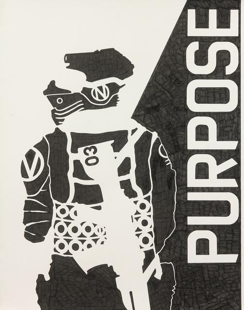 , 'Purpose,' 2017, Mirus Gallery
