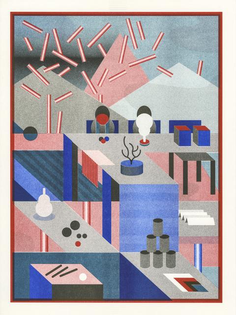 , 'Work Hard Play Hard #4,' 2016, Galerie Kleindienst
