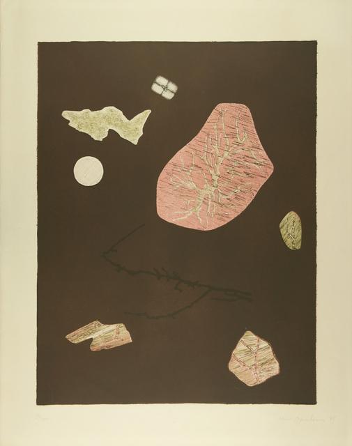 , 'Nachthimmel mit Achaten,' 1971, Galerie Krinzinger