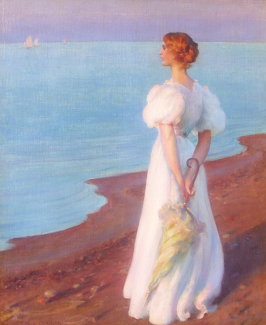 , 'On the Shore of Lake Erie,' 1906, Caldwell Gallery Hudson