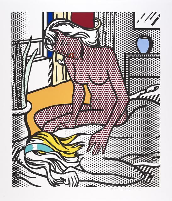 Roy Lichtenstein, 'Two Nudes', 1994, Kings Wood Art