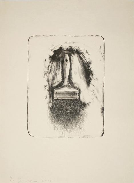 , 'Brushes Drawn on Stone #1,' 2010, Tamarind Institute