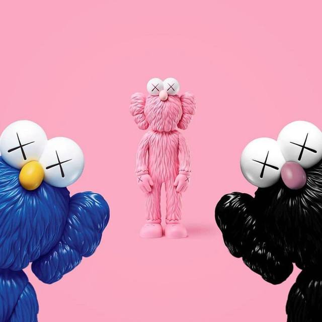 KAWS, 'BFF (Set of Three)', 2017, Lougher Contemporary