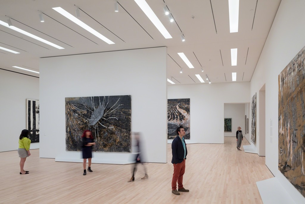 German Art after 1960: The Fisher Collection exhibition at SFMOMA; photo: © Iwan Baan, courtesy SFMOMA.