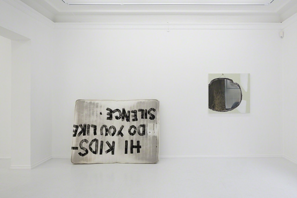 Spencer Anthony, 2014, and Dexter Dalwood, 2014,