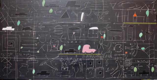 , 'La lavandería,' 2016, Galería BAT Alberto Cornejo