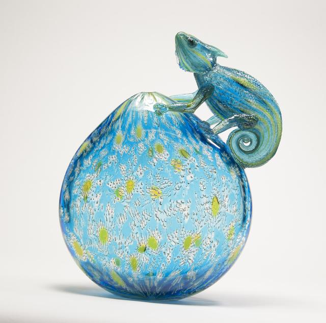 , 'Camouflage I Chameleon,' 2018, Ignite Glass Studio