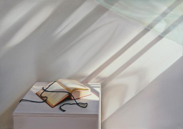 , 'Offenes Buch mit Wind,' 2015, Galerie Friedmann-Hahn
