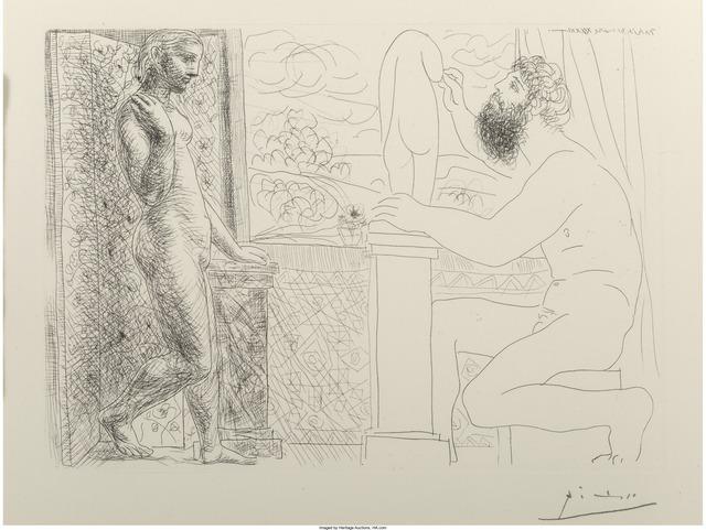 Pablo Picasso, 'Sculpteur et son Modèle devant une Fenêtre', 1933, Heritage Auctions