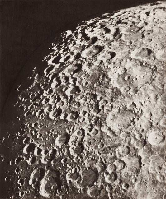, 'Photographie Lunaire: Clavius- Tycho - Stoefler, 19 Septembre 1894, 14h 1, t.m. de Paris,' 1894, Fraenkel Gallery