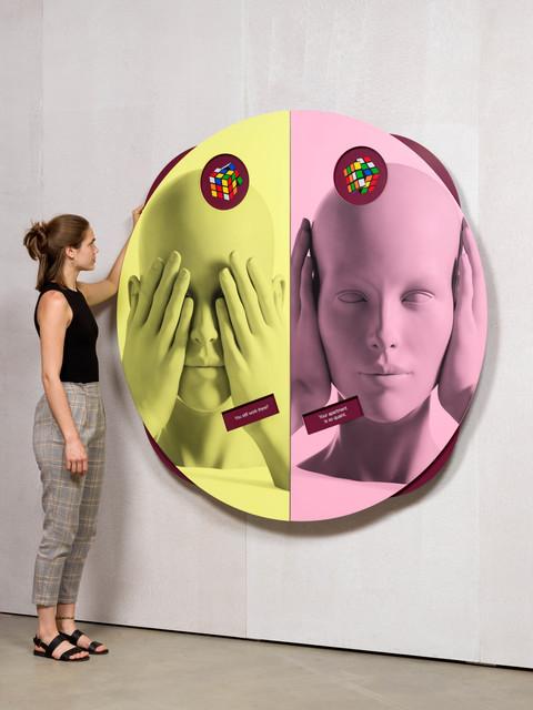 Kathryn Andrews, 'Wheel of Foot in Mouth No. 2 (Rubik's Early Work)', 2019, KÖNIG GALERIE