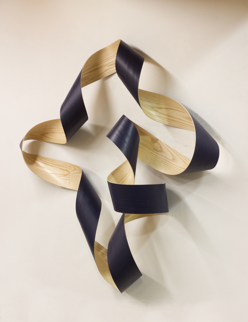 , 'Untitled (Navy),' 2017, Galerie Isabelle Lesmeister