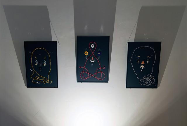 , 'Three Kings Ritual,' 2017, LWM18