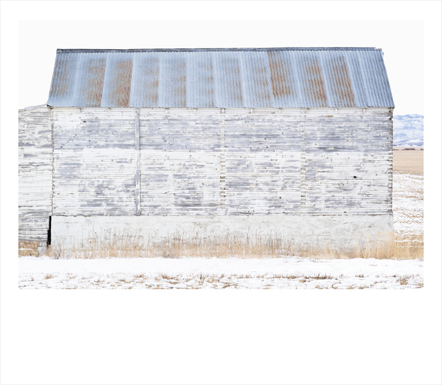 Wendel Wirth, 'White Barn II', 2018, Gilman Contemporary