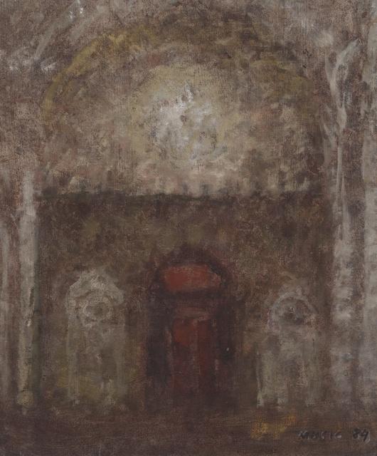 , 'Interno di cattedrale (Cathedral interior),' 1984, Galleria d'Arte Maggiore G.A.M.