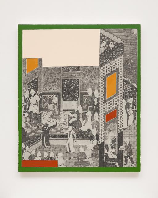 , 'Geometric Painting 22,' 2018, GNYP Gallery