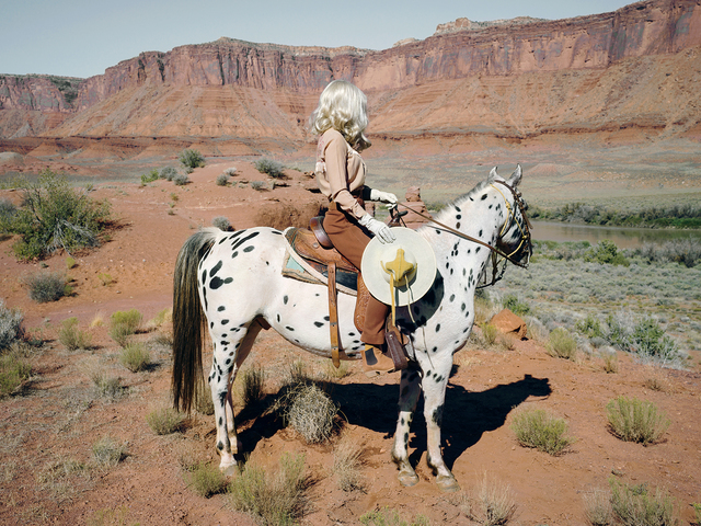 , 'The Imaginary Cowboy,' 2018, THE LITTLE BLACK GALLERY