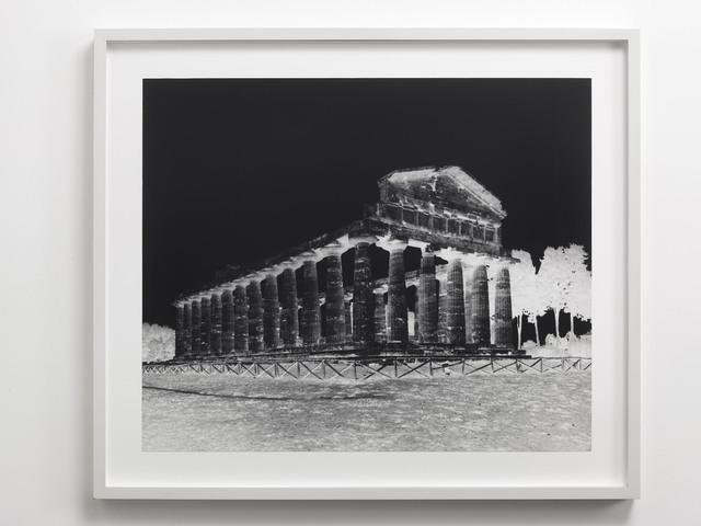 , 'Temple of Athena, Paestum: October 5, 2015,' 2015, Alfonso Artiaco