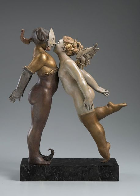 Michael Parkes, 'Kissing ', 2016, Off The Wall Gallery