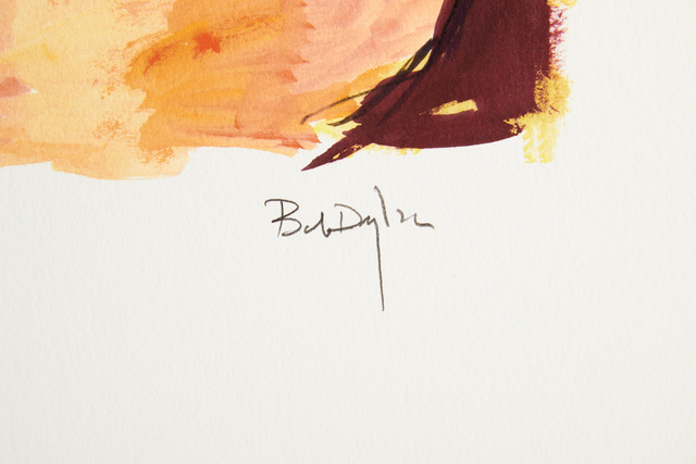 Bob Dylan, 'Bob Dylan Woman on a Bed signed Giclee Etching - Contemporary Art', 2008, Print, Giclee Etching on Paper, Modern Artifact